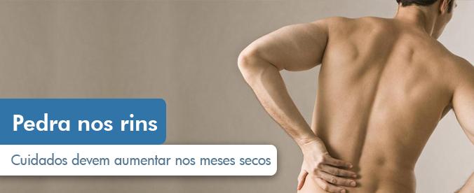 Durante a seca aumenta o risco de cálculo renal
